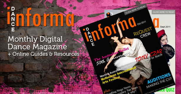 <h1>Dance Magazine & News</h1><p>Sign up to Australia's favourite dance magazine</p>