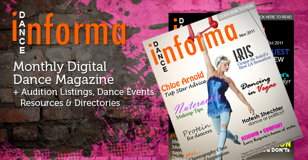 <h1>Dance Informa</h1><p>Online dance magazine and dance news</p>
