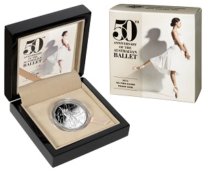 Australian Ballet commemorative coin
