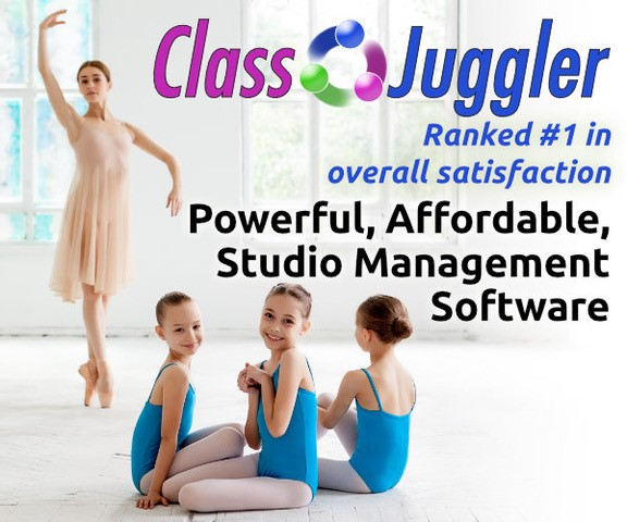 ClassJuggler dance studio software