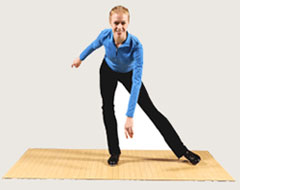 PortaFloor™ portable dance flooring