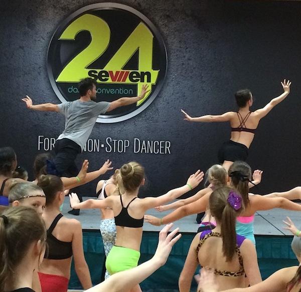 24Seven Dance Convention tours 2014-2015