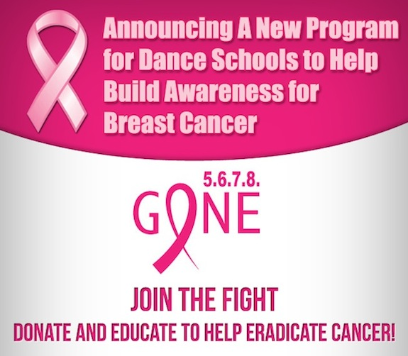5.6.7.8. Gone Dance Program for Breast Cancer Awareness