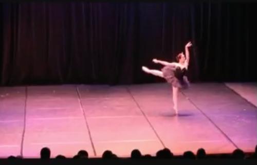 Joffrey Ballet School Summer Intensive Scholarship Winner