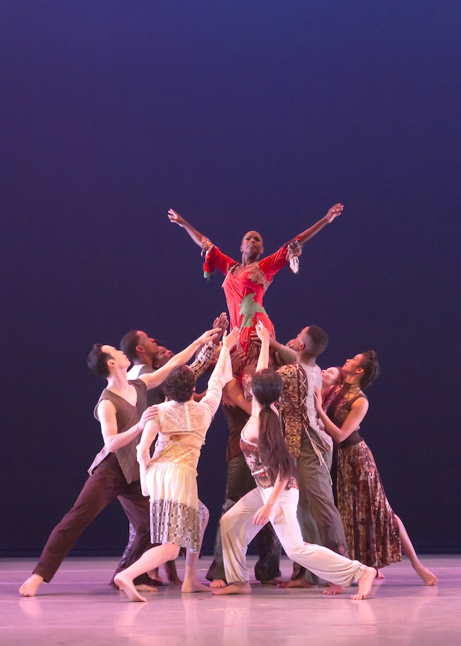 Alvin Ailey American Dance Theater in Matthew Rushing's ODETTA