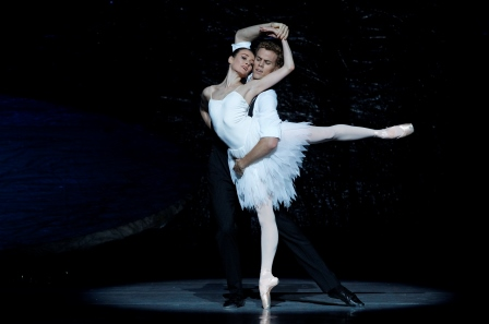 Amber Scott and Adam Bull in Swan Lake