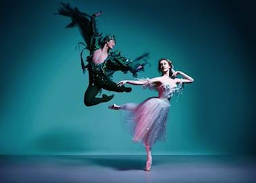 The Australian Ballet's Chengwu Guo and Madeleine Eastoe in The Dream