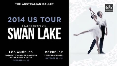 The Australian Ballet on USA Tour with Swan Lake