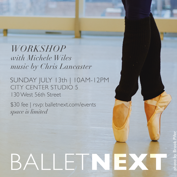 BalletNext July 2014 Workshop
