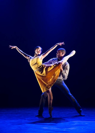 Ballet Black's Sayaka Ichikawa and Damien Johnson in Christopher Marney's Two of a Kind