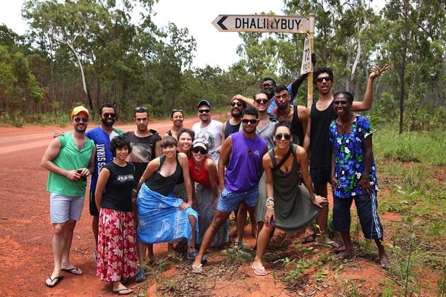 Bangarra Dance Theatre on country in Australia