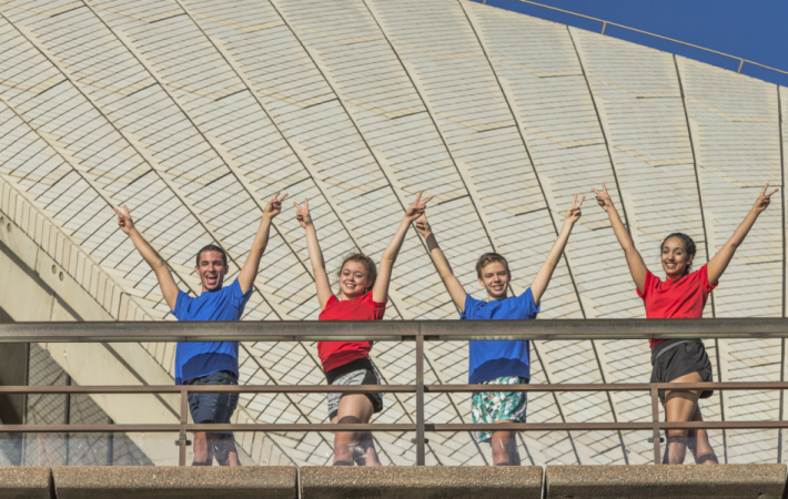 Big Dance in Australia for first time in July 2014 at Sydney Opera House