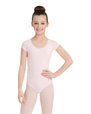 Capezio Short Sleeve Leotard for Child