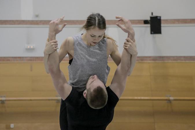 Compañía Nacional de Danza in rehearsal for Carmen