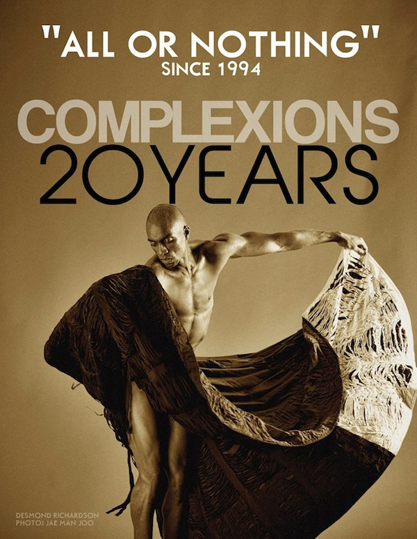 Complexions Contemporary Ballet in its 20th anniversary season