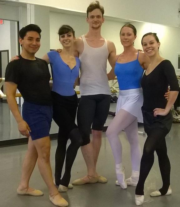Contemporary Ballet Dallas class dancewear