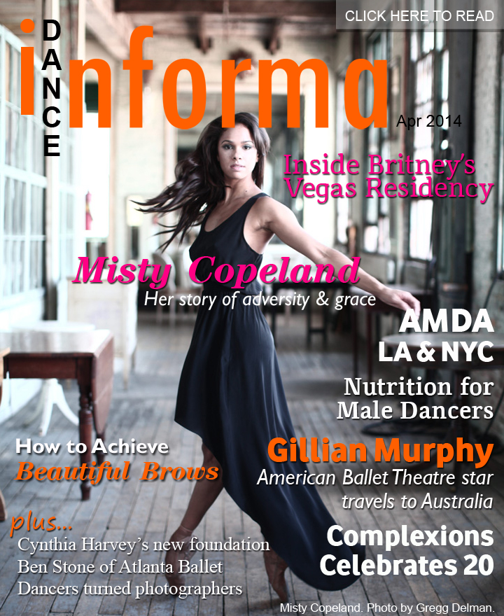 Misty Copeland Claims Coveted TIME Title Dance Informa USA