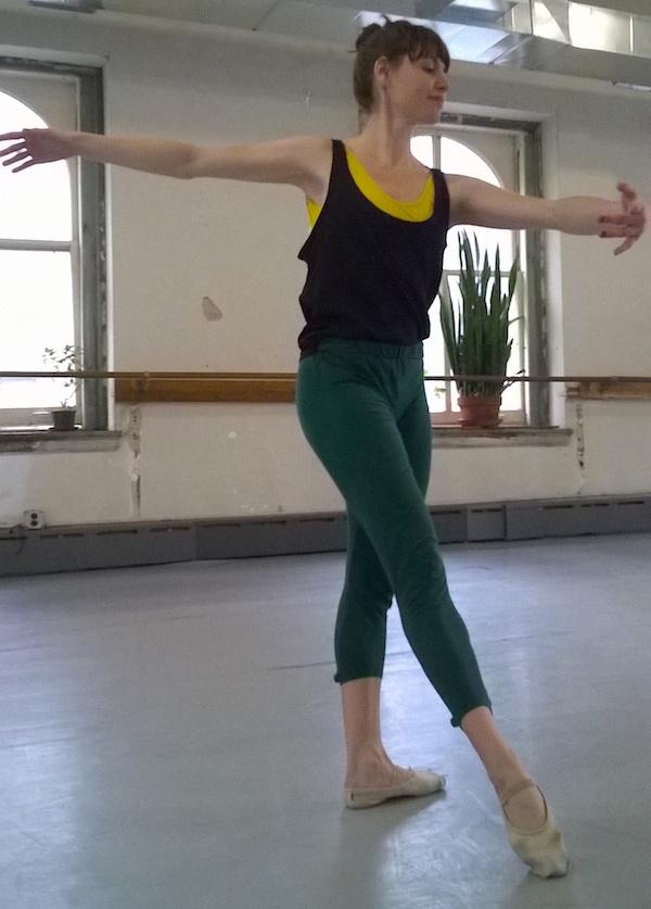 Battery Dance Company dancer Mira Cook