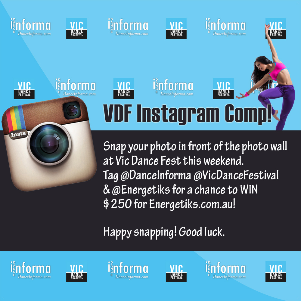 Photo Comp at Victorian Dance Festival 2015