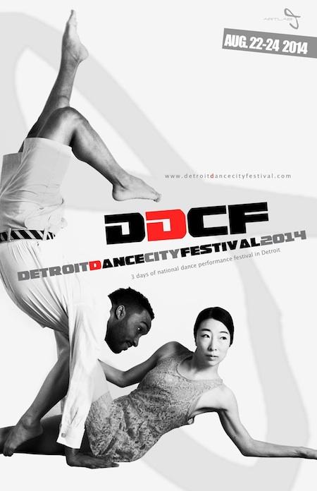 2014 Detroit Dance City Festival in August