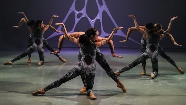 The Northern Ballet performing The Architect by Best Young Choreographer nominee Kenneth Tindall