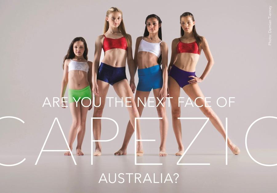 Face of Capezio Australia 2015