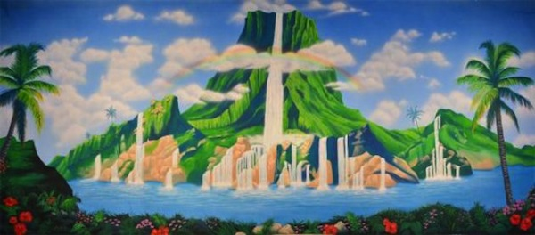 Grosh Backdrops & Drapery Neverland Scene