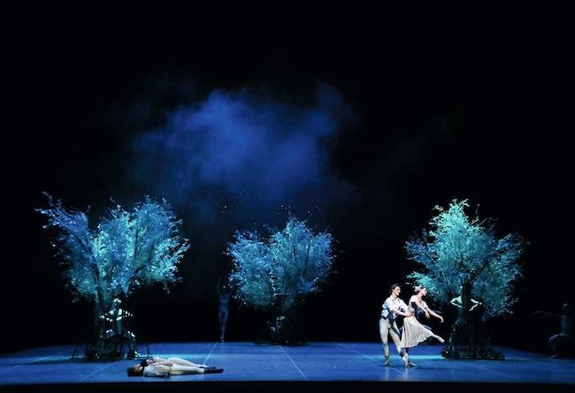 The Hamburg Ballet in John Neumeier's A Midsummer Night's Dream