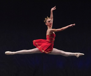 Winner of Lady Mollie Isabelle Askin Ballet Scholarship in 2014