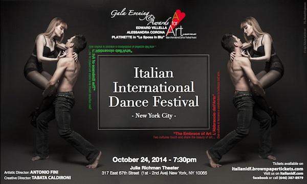 2014 Italian International Dance Festival in NYC