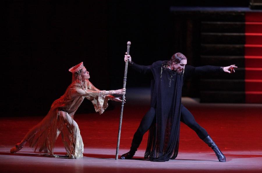 The Bolshoi Ballet performs Ivan the Terrible