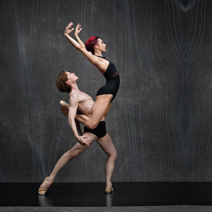 Céline Cassone and Daniil Simkin for INTENSIO