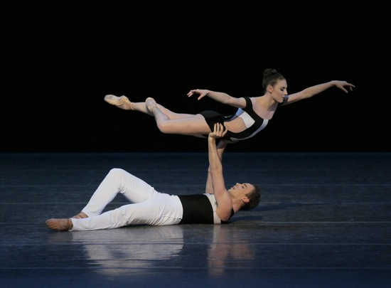 New York City Ballet artists Tiler Peck and Tyler Angle
