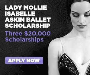 2014 Lady Mollie Isabelle Askin Ballet Scholarship