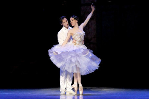 Leanne Stojmenov and Daniel Gaudiello in Cinderella