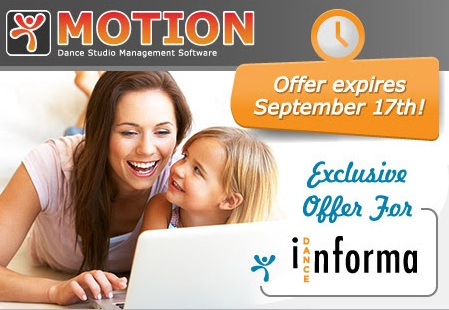 MOTION Dance Studio Management Software
