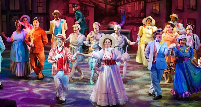 Disney and Cameron Mackintosh's Mary Poppins at Aurora Theatre in 2014