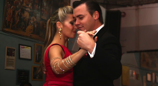 Tango masters Gabriel Misse and Analia Centurion