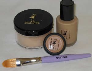 Mode Dion Cosmetics Foundation and Powder