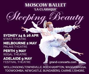Moscow Ballet La Classique Australian Tour 2015