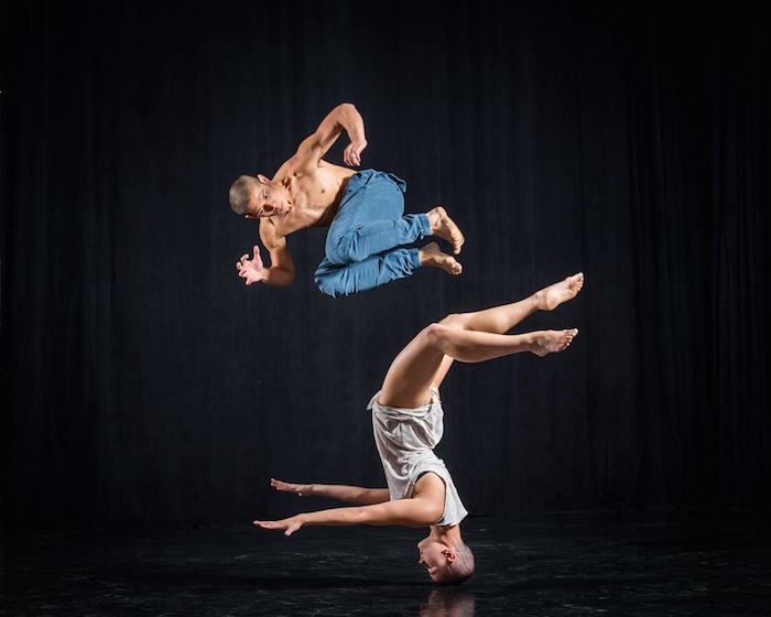 "NZSD contemporary students William (""Billy"") Keohavong and Latisha Sparks"