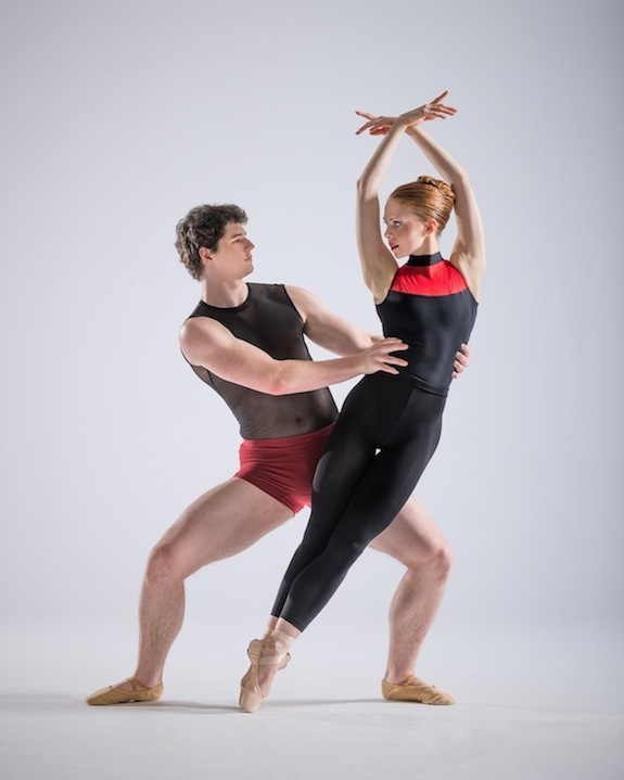 Dancers Samantha Vottari and Tynan Wood in Double Stop for NZSD Graduation Season 2014
