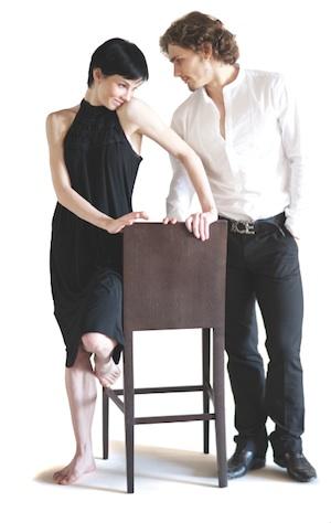 Ballet dancers Natalia Osipova and Ivan Vasiliev