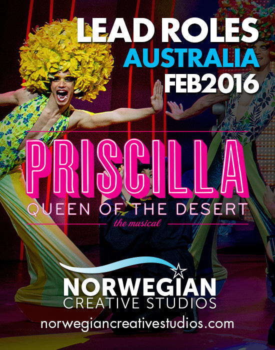 Australian Priscilla Queen Of The Desert auditions