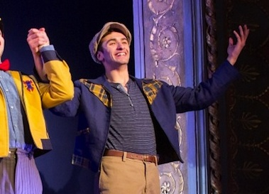 Ricky Ubeda at bows for On The Town