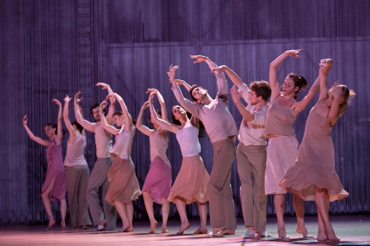Paris Opera Ballet in Rain by Anne Teresa De Keersmaeker