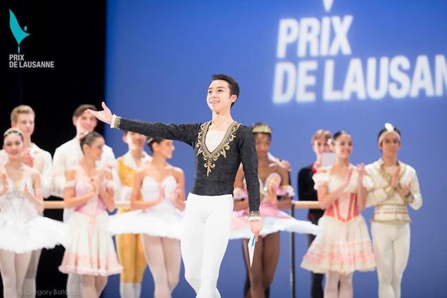 Mikio Kato at 42nd Prix de Lausanne