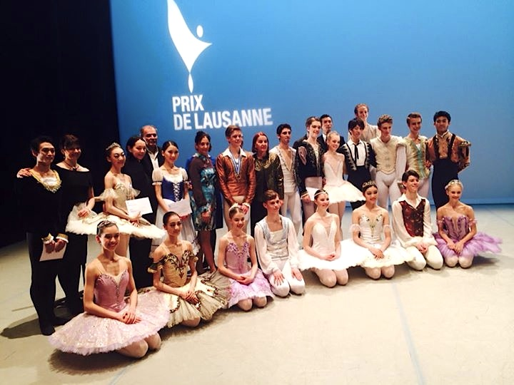 Prix de Lausanne 2015 Prize Winners