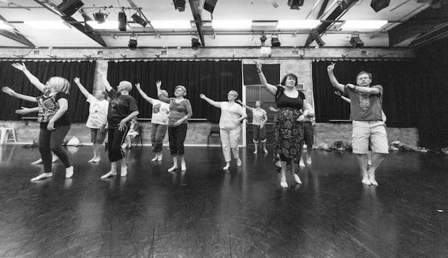 Queensland Ballet's Dance for Parkinson's program