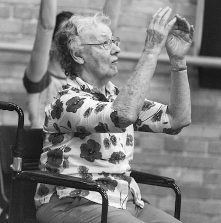 QB's Dance for Parkinson's program